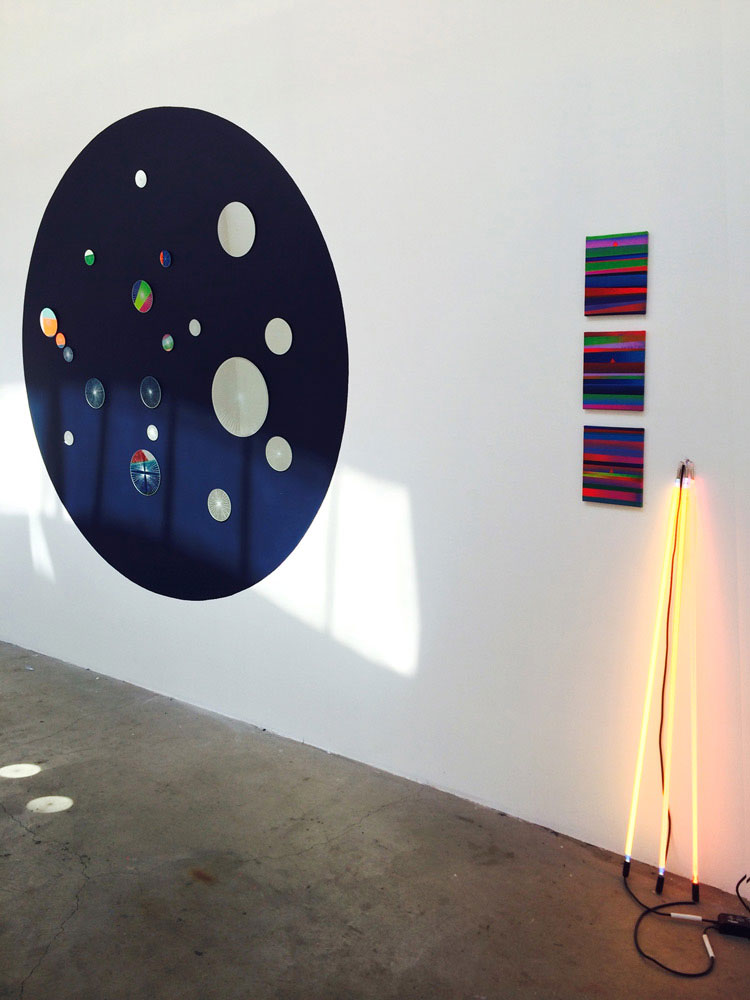 "Mark Warren Jacques ""All Night Every Day"" installation"